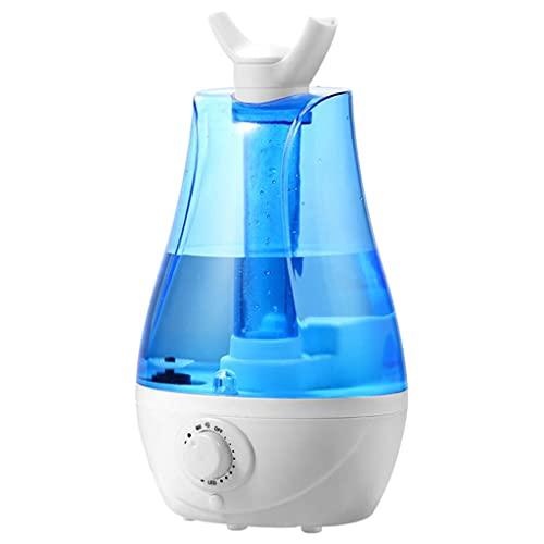 MagiDeal Tanque de agua de 3L, humidificador de niebla fría, boquilla de rotación ajustable de 360 ° para lavabo de baño, hogar, dormitorio, bebés, guardería