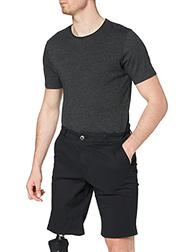 SELECTED HOMME Herren SLHSTRAIGHT-Paris W NOOS Chino Shorts, Black, L