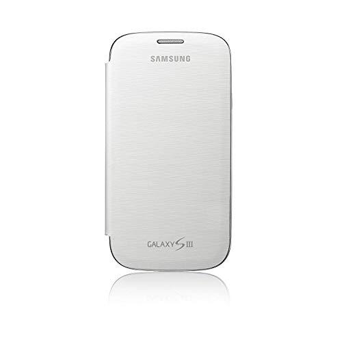 Samsung Galaxy S3 - Funda con tapa para Samsung Galaxy S3, color blanco