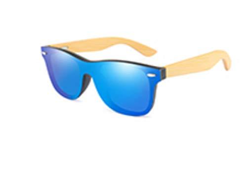 Men Wood Sunglasses Men Square Bamboo Temple Sun Glasses For Male Oversize Retro Handmade Black Frame Gray Lens Eyewear Goggle