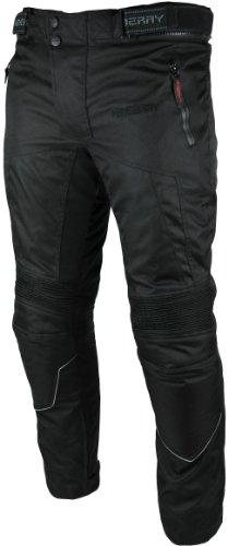 Heyberry Motorradhose Textil Schwarz Gr. L
