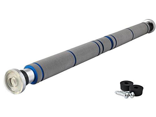 ISO TRADE 2-Wege-Klimmzugstange bis 200kg Individuell Einstellbar 60-100cm Effektives Türreck 5245