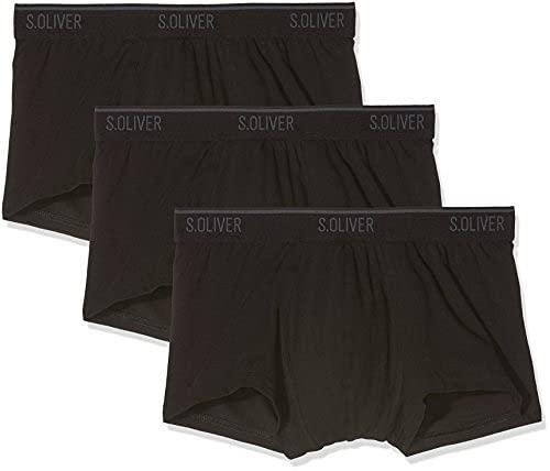 s.Oliver Herren 3er-Pack Jersey-Boxershorts 3x black 5