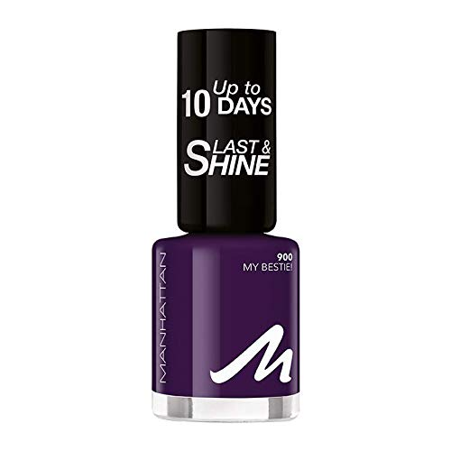 Manhattan Last und Shine Nagellack, Nr.900 My Bestie!, 1er Pack (1 X 10 ml)