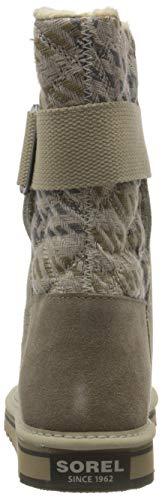 Sorel NEWBIE, Damen Halbschaft Stiefel, Beige (Silver Sage 103), 38 EU - 3