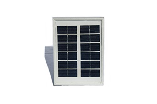 Villageboom 2 Watt Solarpanel 6 Volt - Solar Modul mit polykrystallinen Solarzellen und Aluminium Rahmen