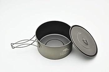 TOAKS Titanium 900ml Pot with 130mm Diameter by TOAKS