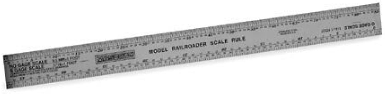 Ahorre hasta un 70% de descuento. Mascot Precision Tools 12 Model Model Model RR Scale Ruler by Mascot Precision  con 60% de descuento