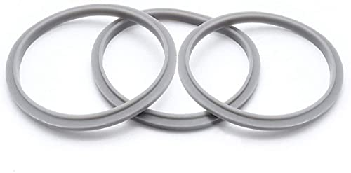 Nutribullet Set of 3 Gaskets with Lip, Fits Nutribullet Blenders 600W and Pro 900W Series