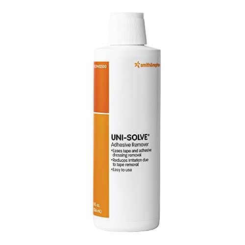 Smith & Nephew UNI-SOLVE Adhesive Remover, Medical Adhesive Remover for Medical Tape and Adhesive Appliances, 8-Ounce Bottle