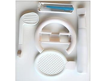 Wii Sport Set with Baseball Bat Tennis Racquet & Golf Club Attachment Kit