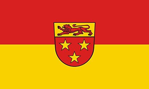 Unbekannt magFlags Tisch-Fahne/Tisch-Flagge: Donzdorf 15x25cm inkl. Tisch-Ständer