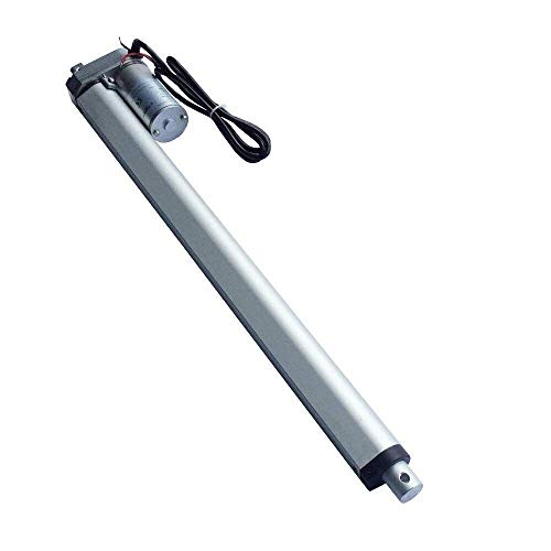 Attuatore lineare per motore elettrico LD DC 24V da 1 set 600-900N 50-1200mm Corsa 10 e 16mm / s Velocità motore lineare Putter per monociclo elettrico (Colore: 900 Corsa (mm) 1200 N, Dimensioni: 20 m