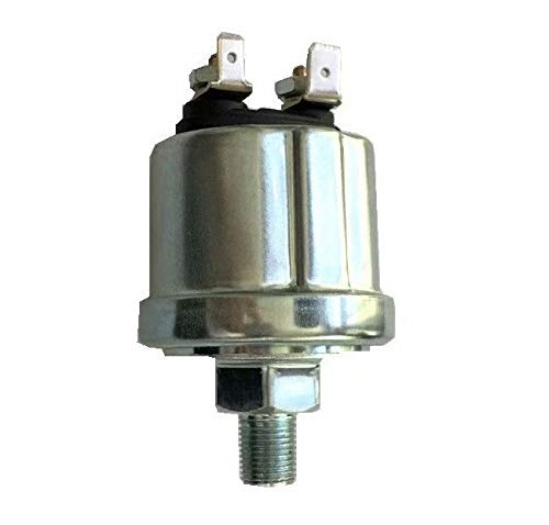 "VDO Type Oil Pressure Sender 1/8""-27 NPT w/16 psi Low Alarm Switch"
