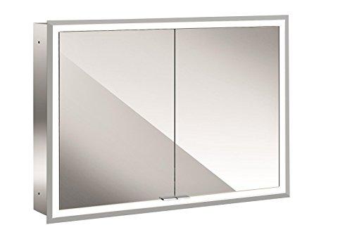 emco asis LED-Spiegelschrank Prime, UP 1000 mm, 2-türig, Rückwand Spiegel