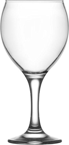 LAV Misket Lot de 6 Verres a Vin - 260 ML