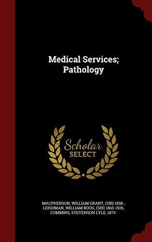 Medical Services; Pathology