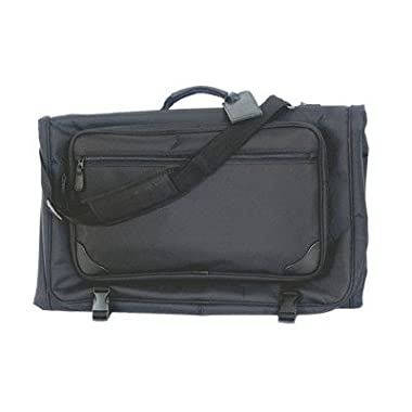 Tri-fold Garment Bag (Black) (45 L x 2 1/4 W x 22 1/4 H)