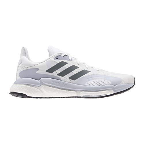 adidas Solar Boost 21 M, Zapatillas para Correr Hombre, FTWR White Blue Oxide Dash Grey, 39 1/3 EU