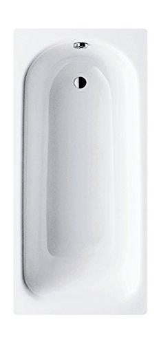 Kaldewei 01285 0 Stahl Saniform Plus | 362-1 | Badewanne | Stahlwanne | 160 x 70 cm | Weiß