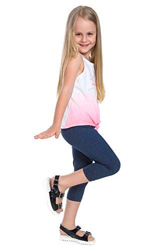 hoi moeder bijgesneden kinderen 3/4 katoen legging basic effen kinderen capri broek leeftijd 2-13