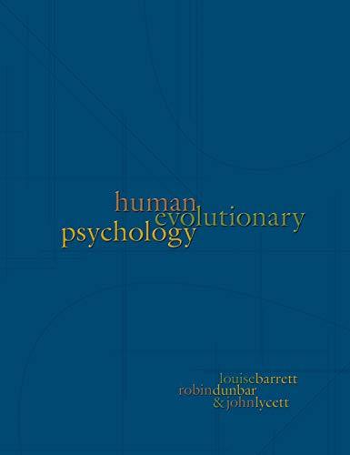 Human Evolutionary Psychology
