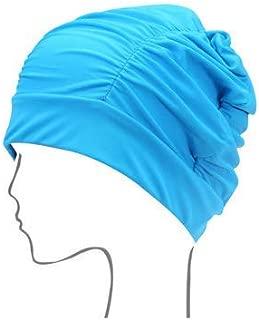 Women Swim Cap Turban Bathing Cap Fashion Adult Waterproof Cap Swimming Hat