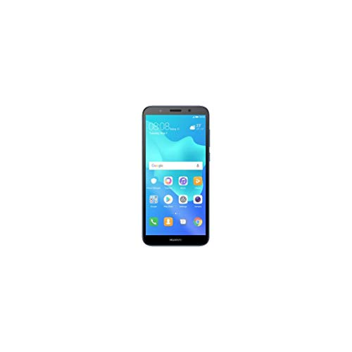 Huawei Y5 2018 Dual-SIM Smartphone 13,8 cm (5,45 Zoll) (3020mAh Akku, 16 GB interner Speicher, Android 8.0) blau