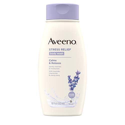 Aveeno Stress Relief Body Wash with Soothing Oat