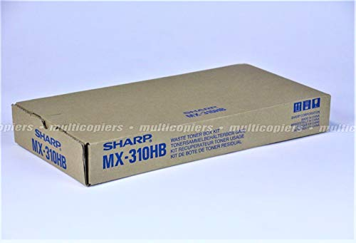 Sharp Genuine Brand Name, OEM MX310HB (MX-310HB) Waste Toner Container for MX-2600N, MX-3100N Printers