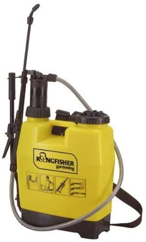 16 Litre Backpack Sprayer   With Spray Lance & Locking Trigger   Carry Handle And Adjustable, Quick-release Harness   Large Filler Opening   Ideal For Easy & Continuous Spraying
