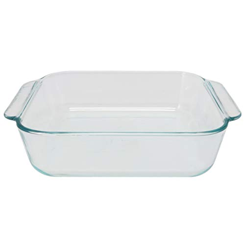 Pyrex 222 Square Clear Glass Baking Dish