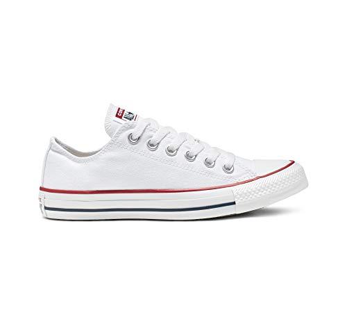 Converse Unisex Chuck Taylor Classic Colors Sneaker (6.5 D(M), White)