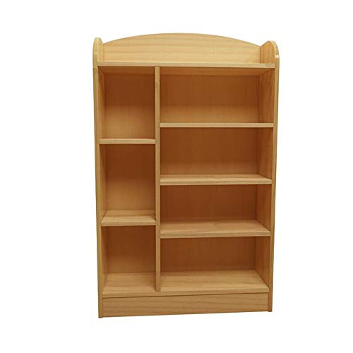 Jcnfa-Shelves Solid Wood Bookshelf, Floor Simple Children