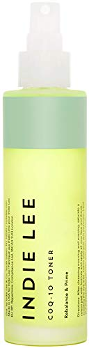 Indie Lee CoQ-10 Toner Mist - Balancing Priming Face Spray with Hyaluronic Acid, Aloe + Chamomile to...