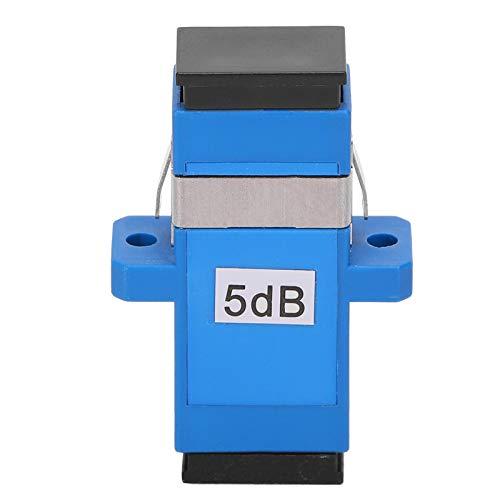 5 piezas SC/UPC-SC/UPC-5DB conector de fibra óptica atenuador de acoplador óptico de...