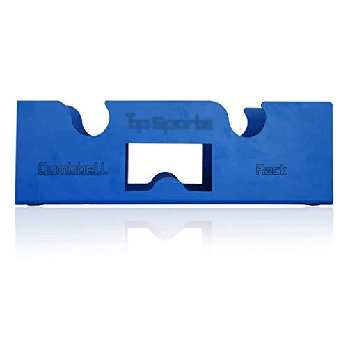 Soporte For Mancuernas Pequeño Multifuncional Marco De Soporte For Mancuernas Que Se Puede Combinar Accesorios Universales For Mancuernas (Color : Blue, Size : 38 * 11 * 12.5cm)