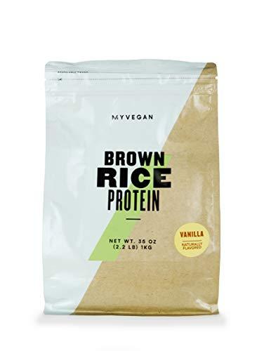 Myprotein® MYVEGAN Brown Rice Protein Powder, Vanilla Stevia, 2.2 Lb (33 Servings)