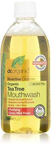 Dr.Organic Tea Tree Collutorio, 500ml