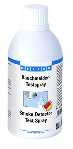 WEICON Spray Testeur pour Détecteurs de Fumée, 250 ml de gaz d essai sans résidus pour détecteurs de fumée