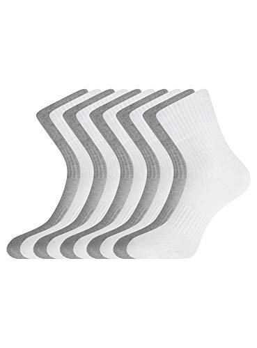 oodji Ultra Damen Socken (10er-Pack), Mehrfarbig, DE 35-37 / S