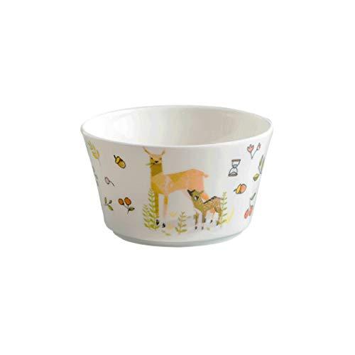 AHAI YU Lindos creativos de la personalidad Los platos de cerámica, pequeño tazón de fuente de dibujos animados Menaje del hogar condimento plato cuenco inmersión condimento Plato de acompañamiento pl