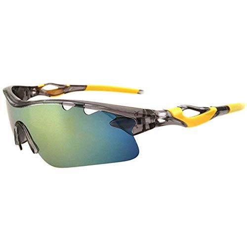 MSYOU - Gafas de ciclismo deportivas para hombre y mujer, dorado