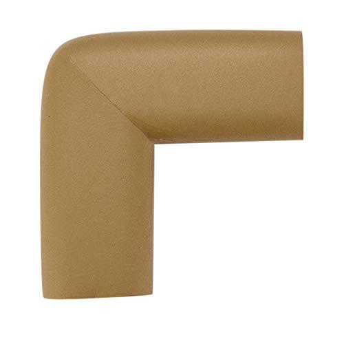 N/A Mobilier de Bureau en Mousse Table Edge Cover Pads Protections Coussins d'angle Pare-Chocs Protections Marron