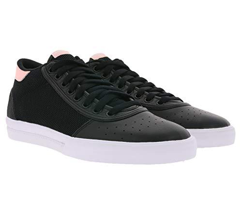 adidas Lucas Premiere Mid Chaussures décontractées confortables pour tous les jours Noir/blanc - Noir - Noir , 44 2/3 EU