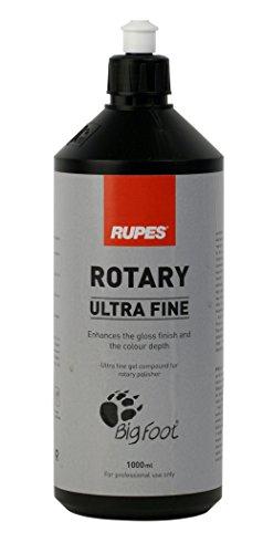 RUPES BIGFOOT Ultra Fine Auto Abrillantador Blanco – 1000 ml para máquina rotativa
