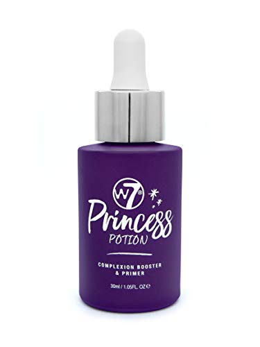 W7 | Face Primer | Princess Potion Face Primer Drops | Hydrating, Lightweight and Long-Lasting | Perfect For All Skin Types