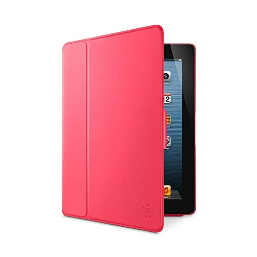 Belkin Smooth FormFit with Stand for iPad 2, 3rd, 4th Generation - Pink