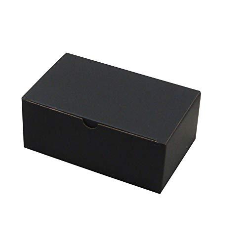 靴箱[底ロックタイプ] 幼児用 (185×115×75) 黒 10枚セット (シューズボックス ダンボール 段ボール 靴収納ボックス 1足用)