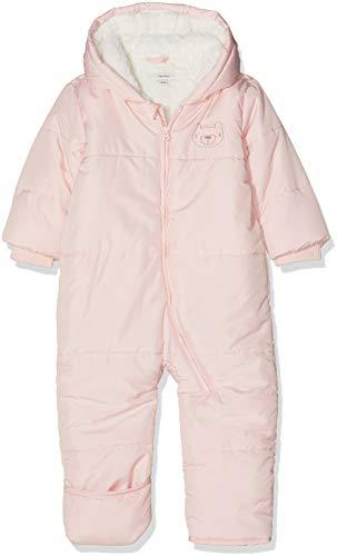 NAME IT NAME IT Baby-Mädchen NBFMAKI Suit W. FOLD UP FEET Schneeanzug, Rosa (Strawberry Cream Strawberry Cream), 50